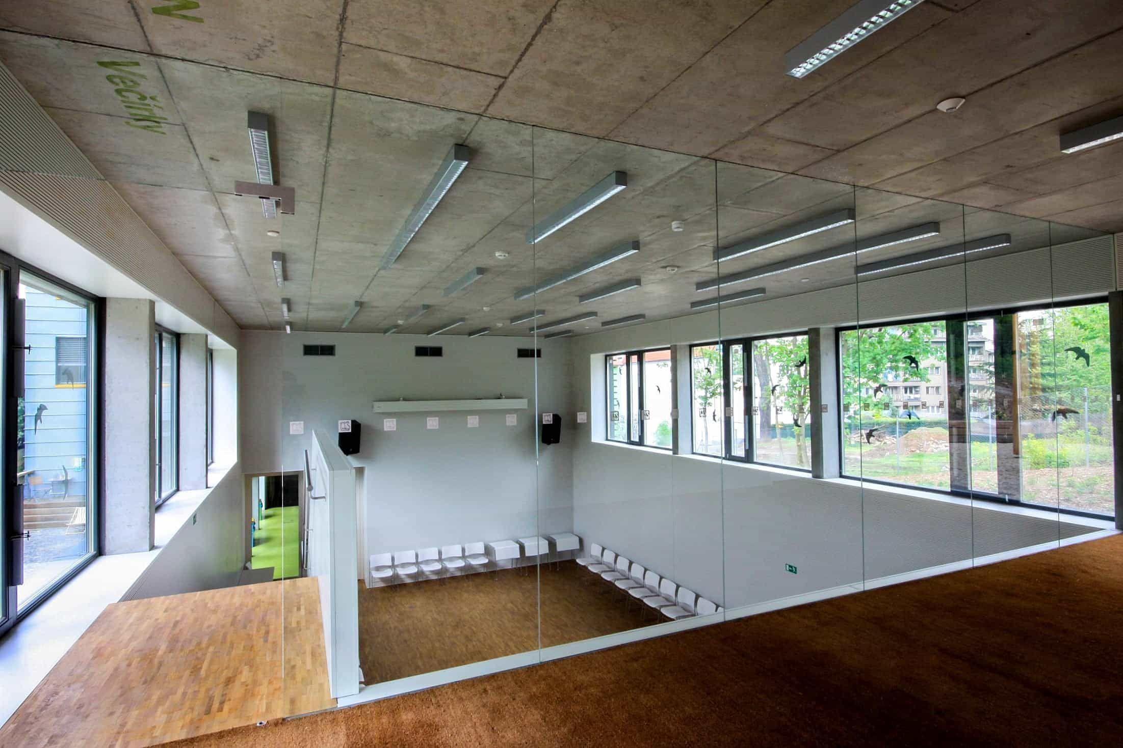 Konferenční sál Otevřené zahrady v Brně