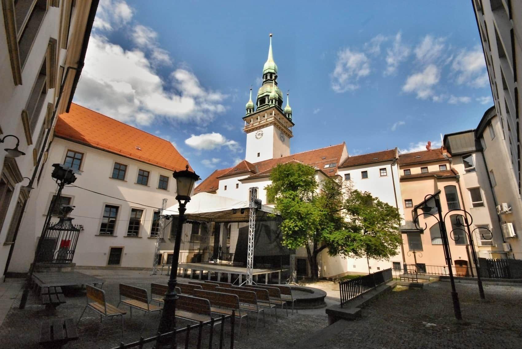 nádvoří Staré radnice v Brně