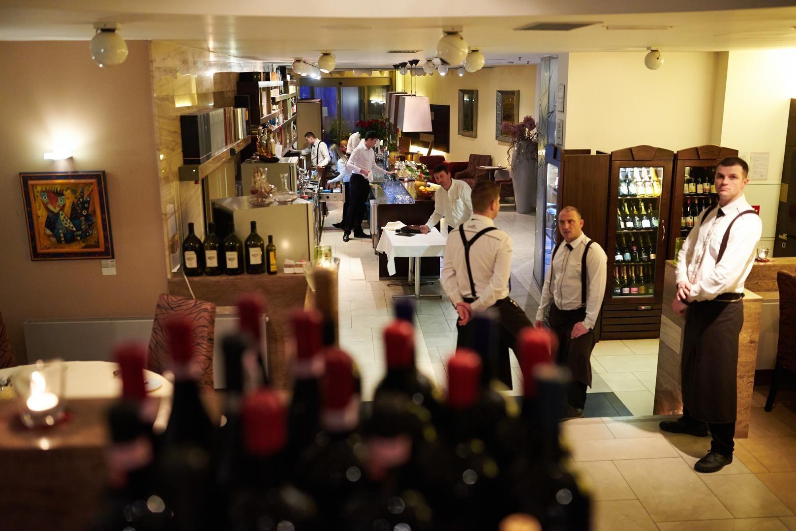 restaurace Borgo Agnese v Brně