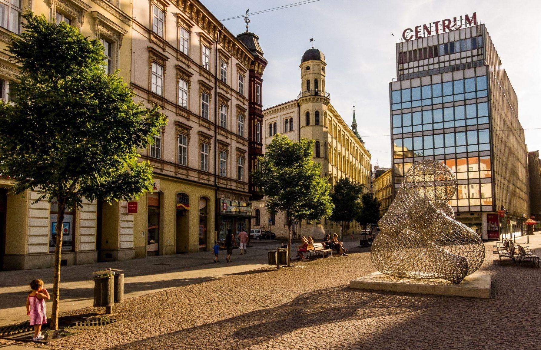 Obchodní dům Centrum v Brně