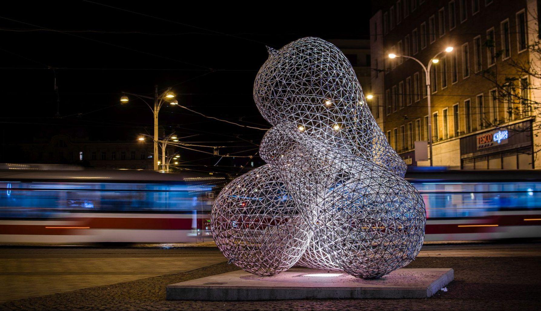 socha Pocta T. A. Edisonovi v Brně