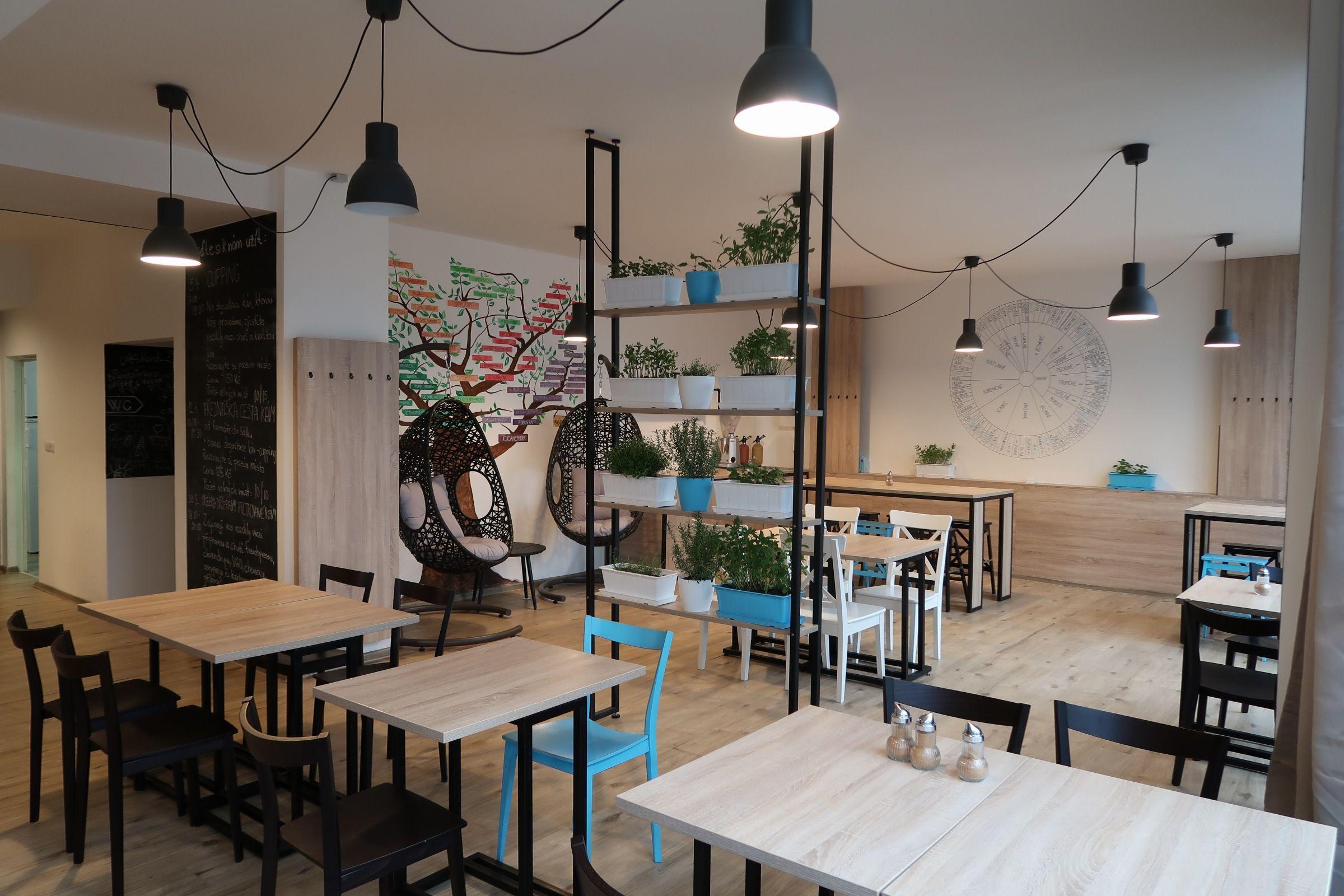 kavárna kafec v Brně