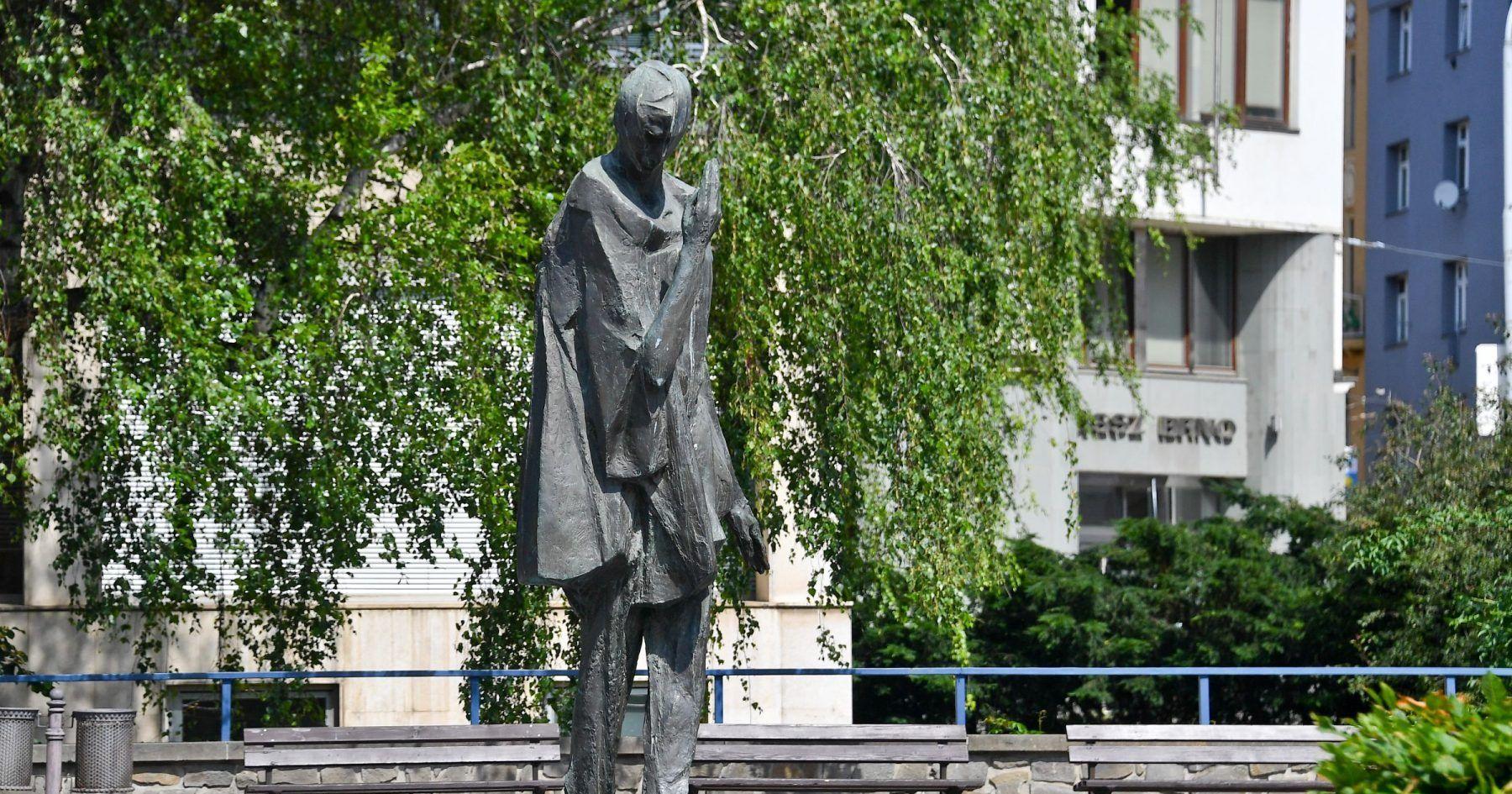 socha Jiří Marek: Mim v Brně