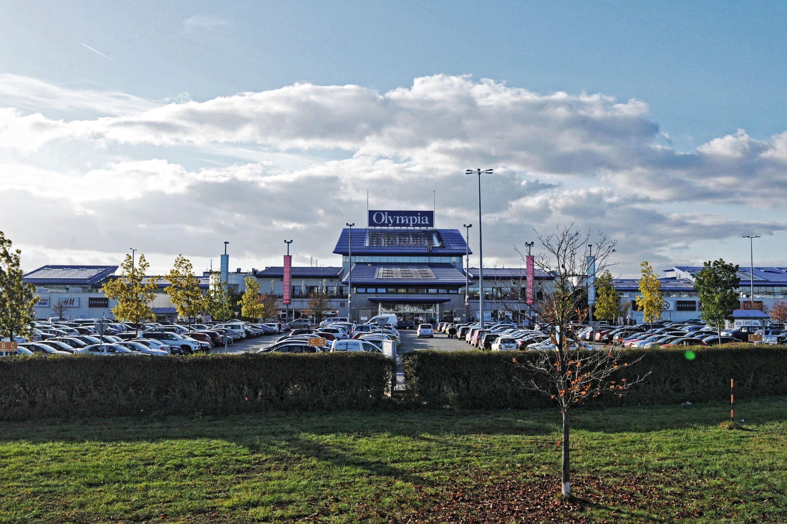 obchodní a zábavní centrum Olympia v Brně