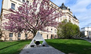 socha Michal Gabriel: Památník 1., 2. a 3. odboje v Brně
