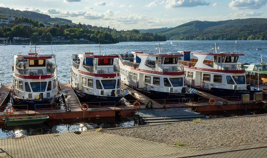 Lodní doprava na přehradě v Brně, Jan Cága