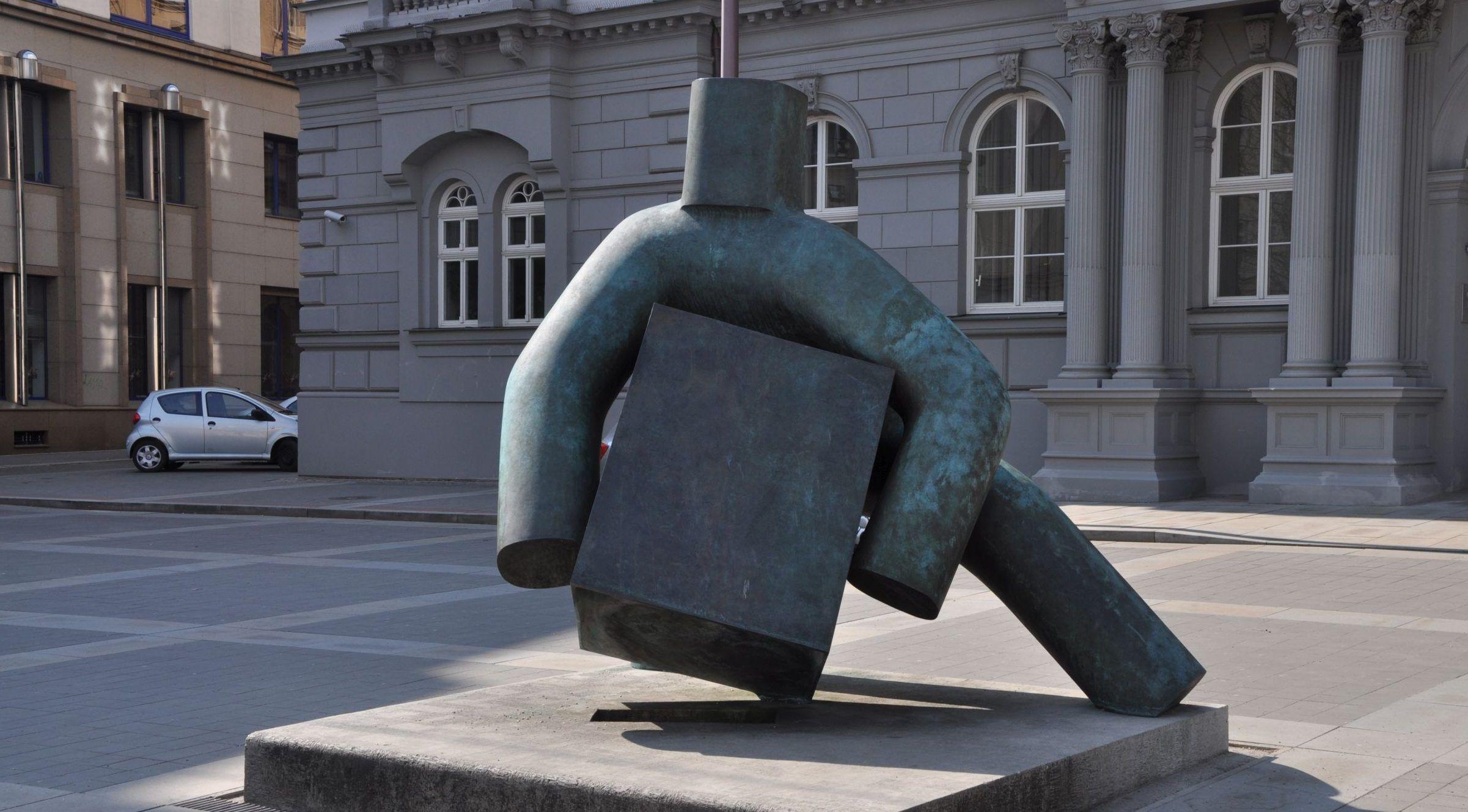 socha Marius Kotrba: Spravedlnost v Brně