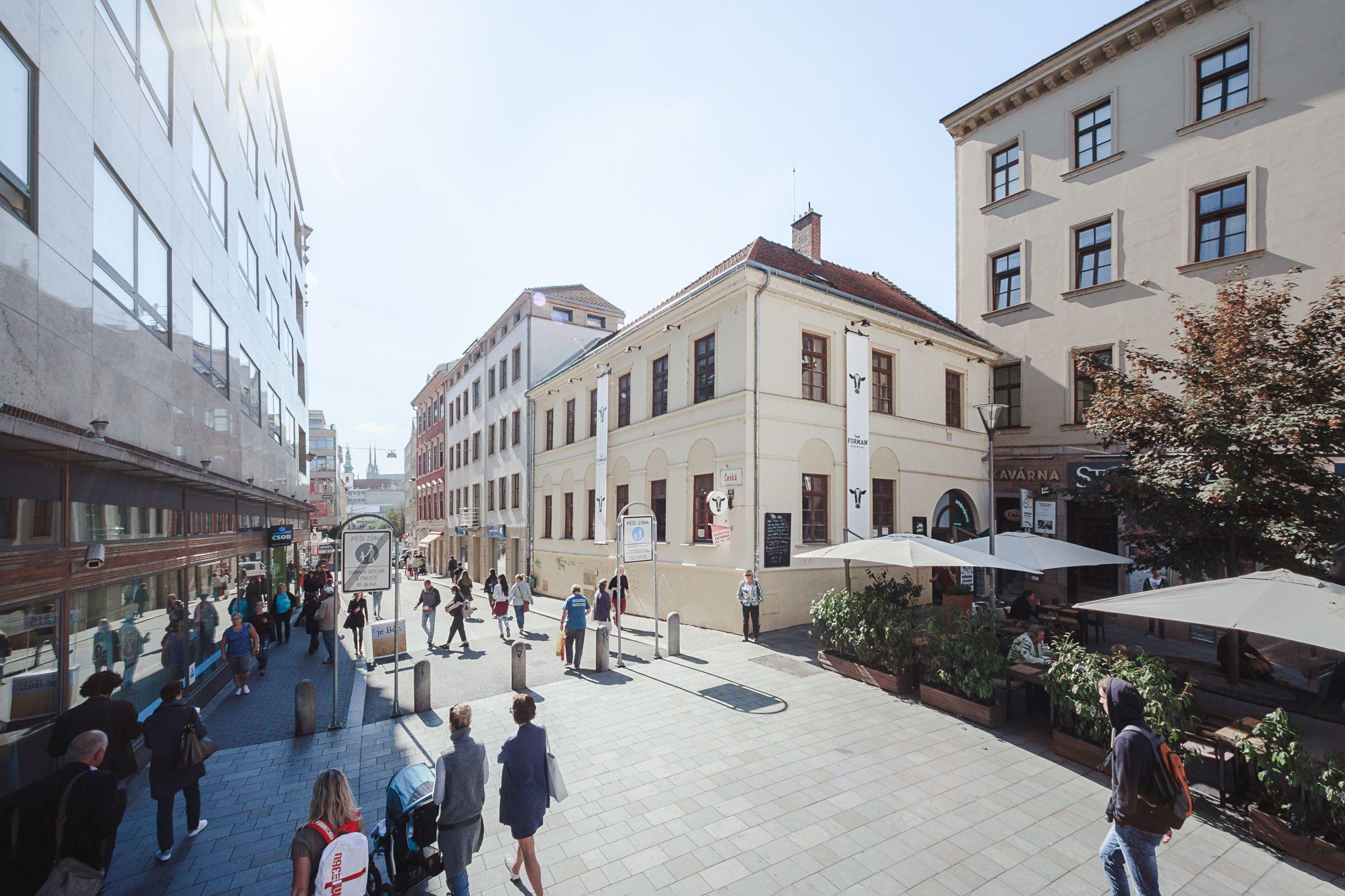 Ulice Česká v Brně