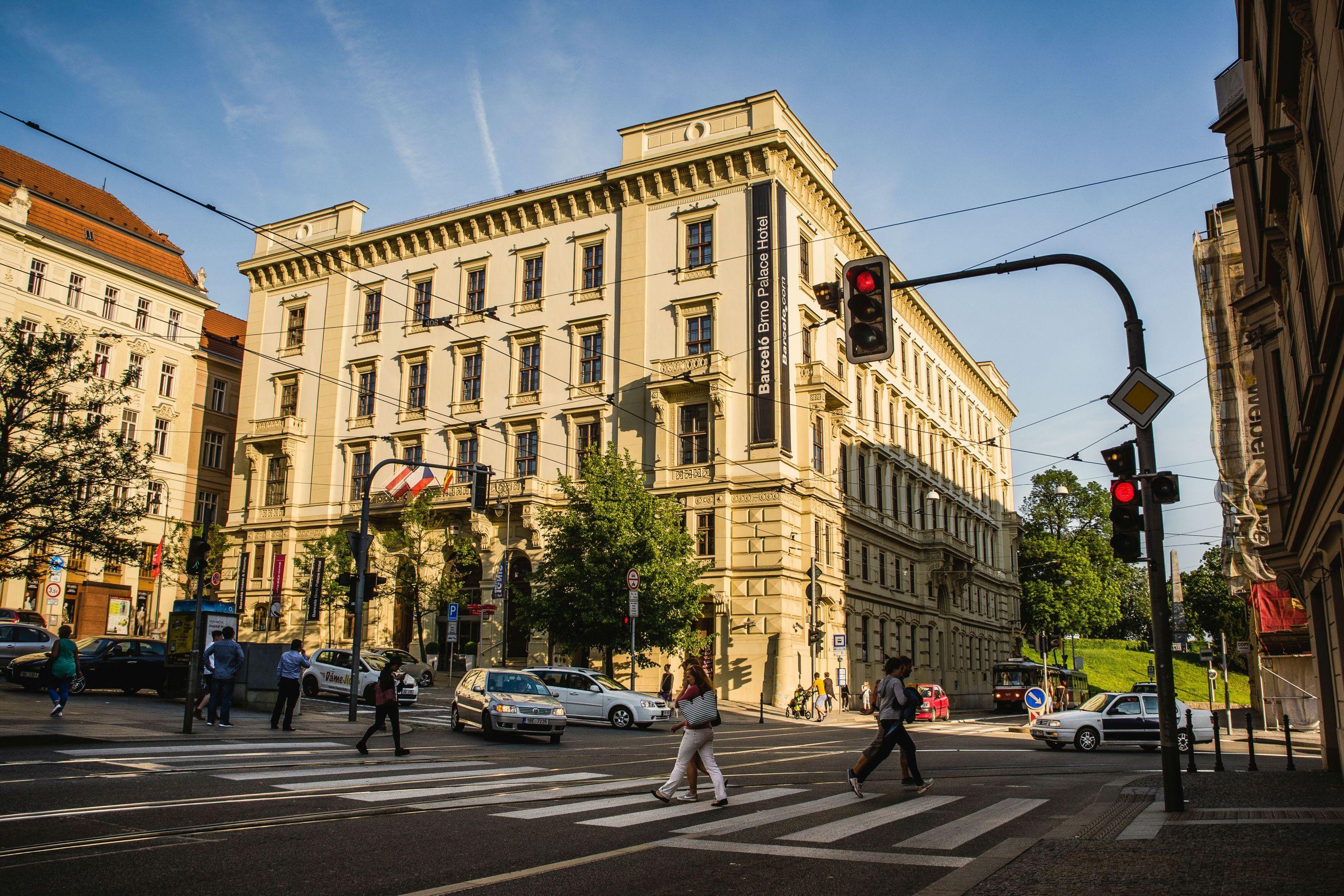 šilingrovo náměstí v Brně