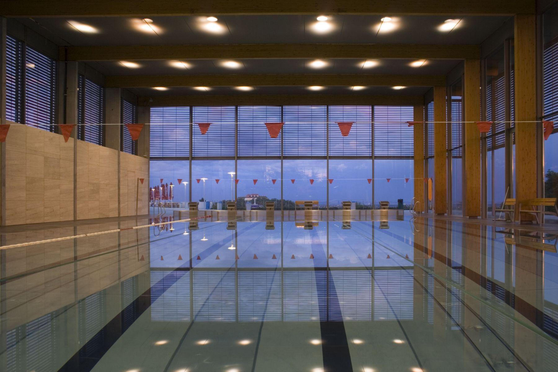 koupaliště, bazén Kraví hora