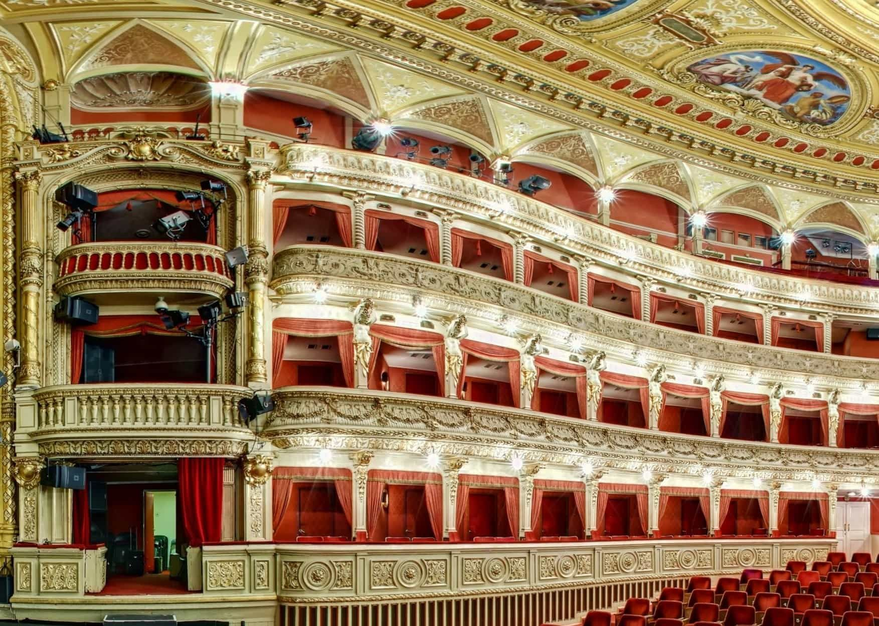 Mahenovo divadlo v Brně sál