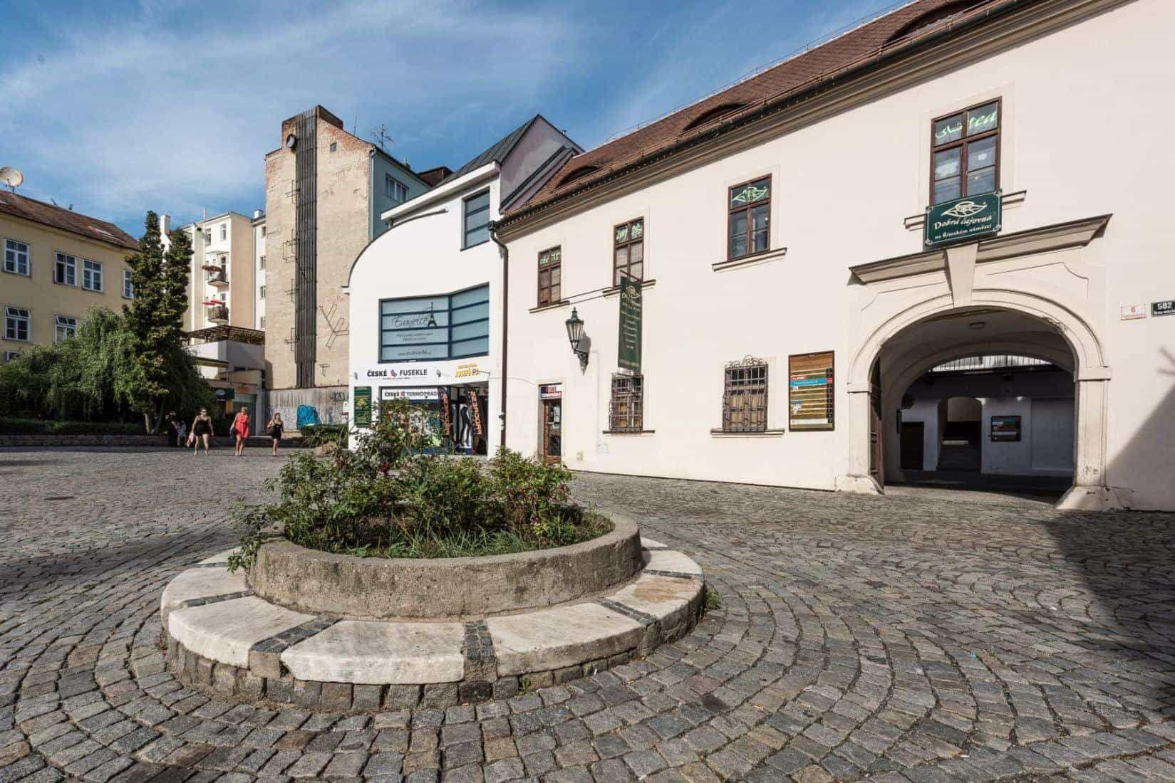 Římské náměstí v Brně