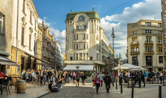 Jakubské náměstí v Brně, foto: Pavel Gabzdyl, Jan Cága