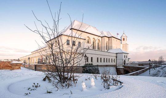 Hrad Špilberk v zimě, foto Pavel Gabzdyl