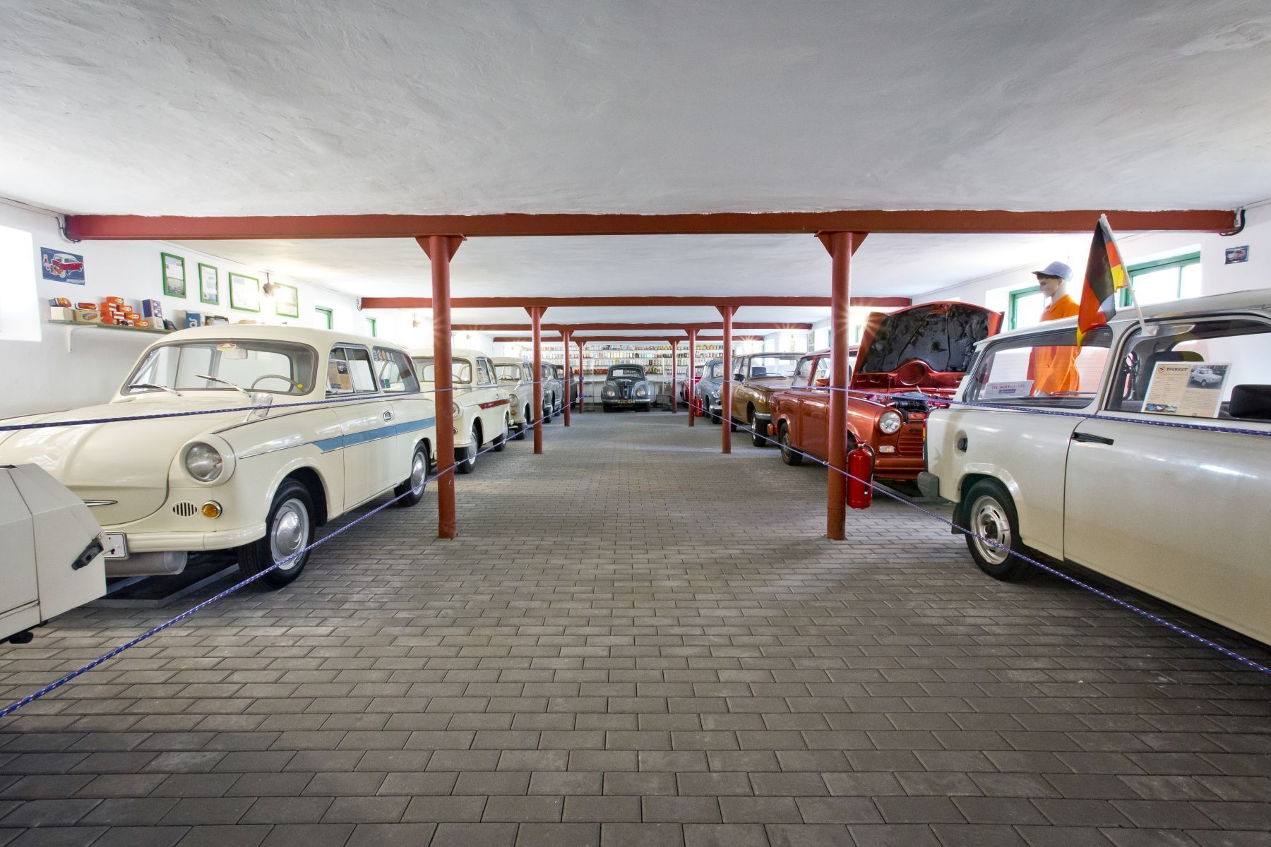 Retro muzeum Na statku