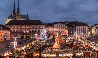 Advent na Zelňáku - Vánoční trhy na Zelném trhu v Brně