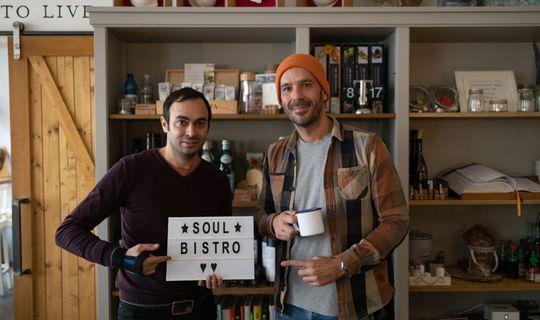 Soul Bistro - herec Roman Blumaier a spolumajitel Tomáš Horváth