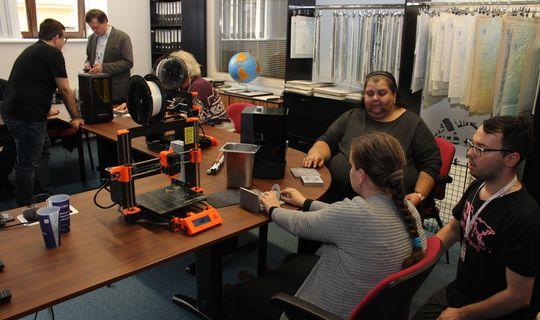 Workshop o využití 3D tisku při vzdělávání zrakově postižených