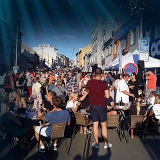 Street party Minská