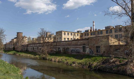 Část bývalé textilní továrny Moritz Berans' Söhne, později součást Zbrojovky © Jan Pochylý