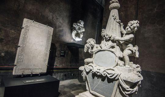 Chrám kamene-Lapidárium-Špilberk, foto: M. Budíková