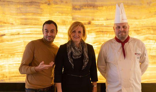 Gusto Plzeňka Local Food Restaurant - Michal Janík, Beatrice Vojtková a herec Roman Blumaier