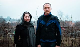 Jundrov, Eliška Beránková a její otec Tomáš, (c) Františka Foto