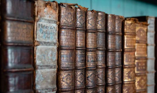 Kapucínský klášter - knihovna, (c) Františka Foto