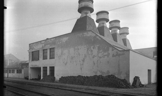 Brněnská přádelna česané příze, a. s. – tzv. Kemka © Technické muzeum v Brně