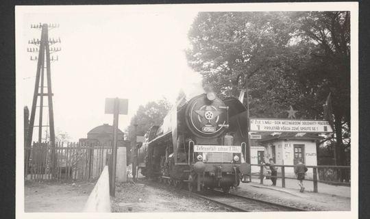 Zábrdovické nádraží © Archiv města Brna