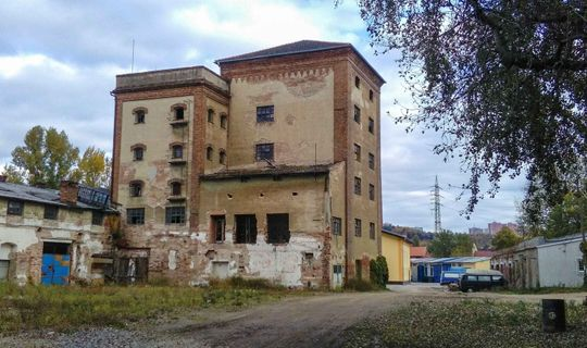 Budova bývalé Briessovy sladovny ©Tomáš Zeiner